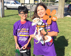 Neighbors participates in local Alzheimer's Walk