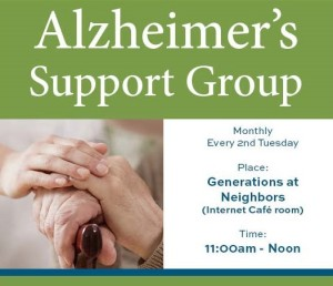 Alzheimer's Support Group Neighbors 2017